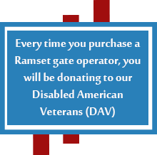 Ramset donates to disabled veterans
